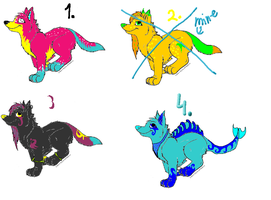 adoptables by CanineCriminal