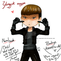 Yongguk's Aegyo by InnocenceShiro