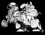 Ratrod-Tee-DesignNegative1026-copy by Peterkat