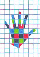 Hand of colors by Alpanu