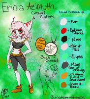 New Erinia Azimuth Reference by babybluedreams