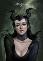 Maleficent by phamoz
