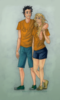 PJO: Percabeth by eda1102