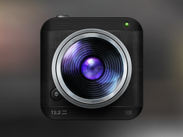 Camera lens by OtherPlanet
