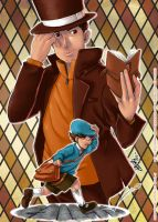 Professor Layton by Goldman-Karee