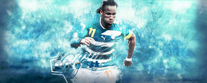 Didier Drogba - SoccerSign by GersonDesign