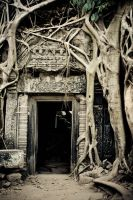 The Wonders of  Angkor II by furryfoto-fotography