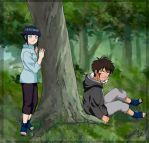 In forest by Daminitri