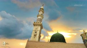 the Madina Al Nabi by islamicwallpers