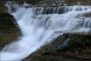 Stonybrook falls - Oct 2009 by pearwood