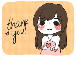 THANK YOU by xaiisu