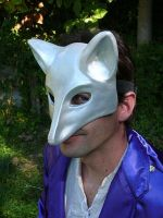 Chrome Fox Mask 2 by BlueHyena