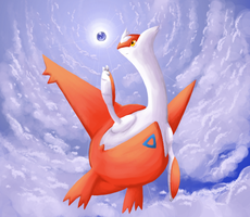 latias and soul dew by RawChomp