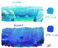 Underwater studies by Nezart