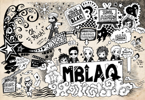 .:: MBLAQ ::. by the-sinister