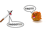 Cig vs Meatball by Dark-blood-angel
