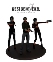 Resident evil 7. Render by Taitiii
