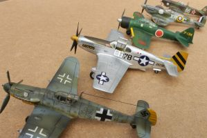 Aircrafts 1/72 - 'The war is over' squadron by Nexius22