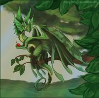 Flight Rising contest Entry 2 by LilOrangeDragoness