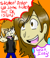 We're goin' to de island by Magictoes