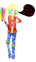 Touch the rainbow, smoke the rainbow!~ by flashsteps