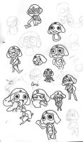 SGT Frog Sketches 1 by Deathirst