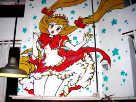 .:Red Riding Hood:. Mural Full by Mako-Fufu