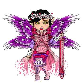 Spring Flower Guardian Outfit by ItsAndromeda