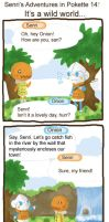 PKMN-C: It's a wild world by SilkenCat