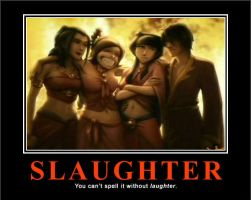 AtLA Motivation: Slaughter by LadyLiski