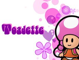 It's Toadette by ImYourVillian