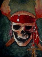 Pirates Skull by MikaPoison