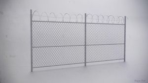Barbed Wire Fence by Regus-Ttef