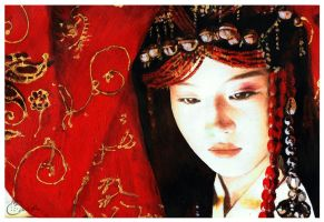 Chinese Maiden by FranyBerry