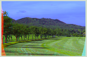 Timmenrode in the Harz Mountains ::: Anaglyph 3D by zour