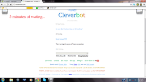 I broke cleverbot! by Gloomy-Butt