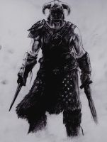 skyrim drawing by LiamGray