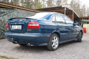 S40 Rear by Simmeson