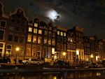 Night in Amsterdam by Csipesz
