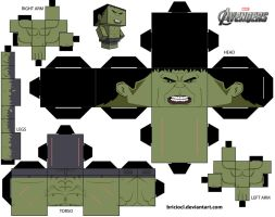 Cubeecraft Template Hulk by briciocl