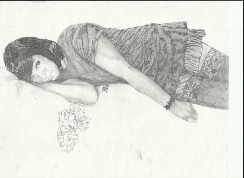 Not Much In The Way Of Words Sketch by henry-warburn