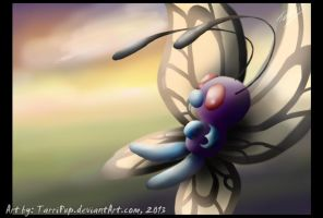 Pokeddexy 1 - Dawn Butterfree by TarriPup