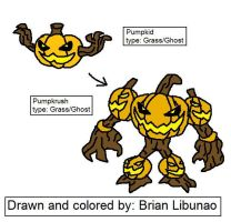 Fakemon: The Pumpkinator by Brian12
