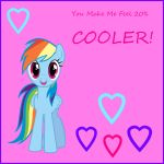 Rainbow Dash Valentine by Sc00taloo