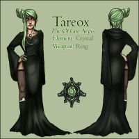 Tareox - Character sheet by Windnstorm
