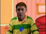 Dean Winchester as Steve from Blues Clues by gnidaer