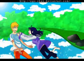 Come on Hinata ! by Ego-chan