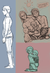APH: Assorted sketches by Assby