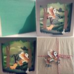 Small Fantasy Forest Tunnelbook - Trade by PoonieFox
