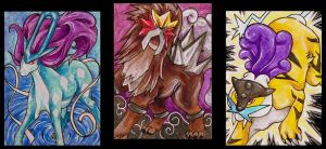 ACEO: Legendary dogs by ersayer5